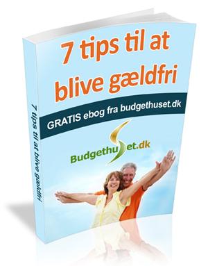 7 tips til at blive gældfri